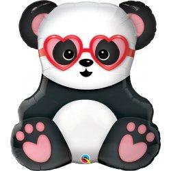 Balon foliowy Panda Serce 81 cm