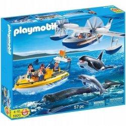 Playmobil 5920, Badacze wielorybów