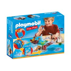 Playmobil 9328 - Play Map Piraci