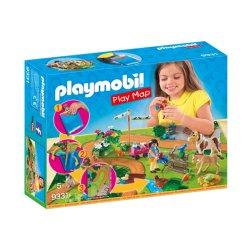 Playmobil 9331 Play Map Wycieczka kucyków
