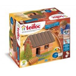 Teifoc 1024 - Mały Domek z Cegiełek