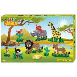 Hama 3041, Safari z koralików midi