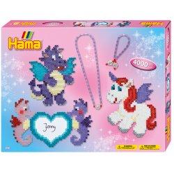 Hama 3148 - Pegaz i smoki z biżuterią - koraliki midi