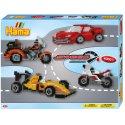 Hama 3149 - Pojazdy wyścigowe - koraliki midi