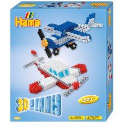 Hama 3242 - Samoloty 3D - Koraliki Midi