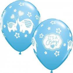 Balon na narodziny chłopca - It's a boy - niebieski