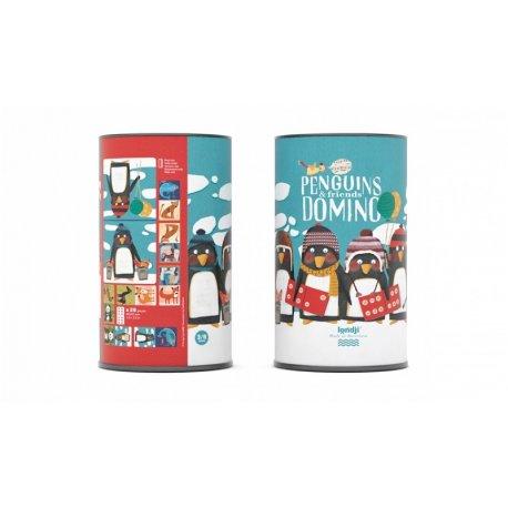 Gra domino Pingwiny i przyjaciele, Penguins and friends, Londji DI009