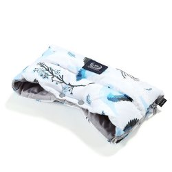 Mufka Aspen Winterproof, Blue birds, Dark Grey, La Millou