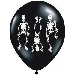 Balon Halloween - Kościotrupy