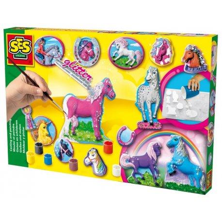 Odlew Gipsowy Bajkowe konie, SES Creative
