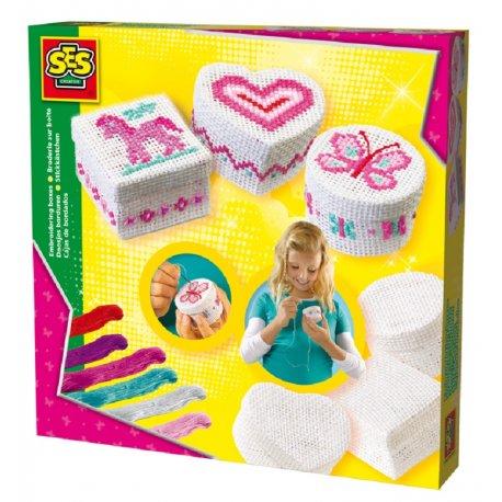 Haftowanie pudełek, Zestaw kreatywny, SES Creative