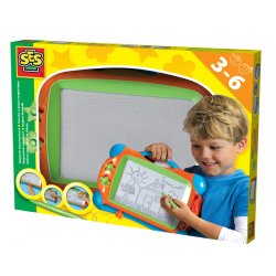 Tablica Magnetyczna Znikopis ze Stempelkami dla Dzieci - SES Creative