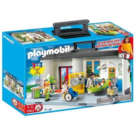 Playmobil 5953, Przenośny szpital, Playmobil City Life