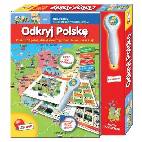 Odkryj Polskę, Książeczki I'm a genius, Lisciani PL78342