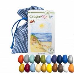 Kredki Crayon Rocks Seaside Bag, 20 kredek w zestawie