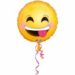 Balon Emotikon Uśmiechnięty - 43cm