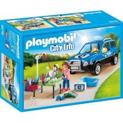 Playmobil 9278 - Mobilny salon dla psów - City Life