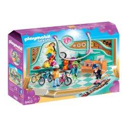 Playmobil 9402 - Sklep rowerowy i skateboardowy