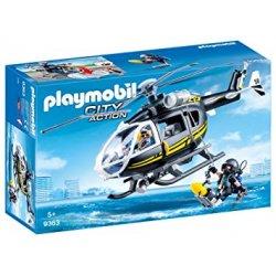 Playmobil 9363 - Helikopter jednostki specjalnej