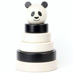 Bajo 39390 - Drewniana Piramidka Panda