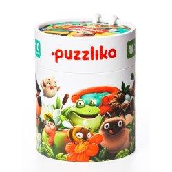 Puzzle Cubika Duo - Gdzie mieszkają zwierzątka