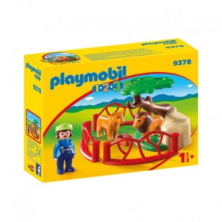 Playmobil 9378 - zagroda lwów
