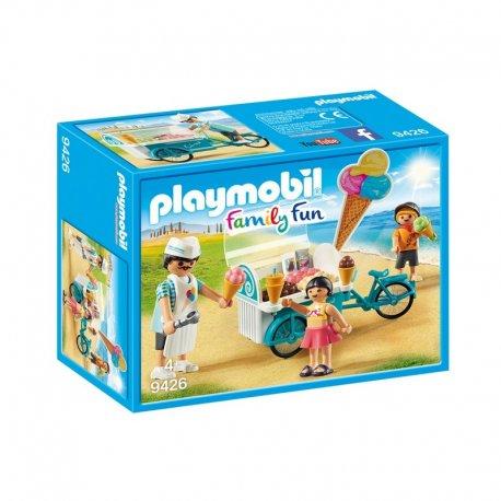 Playmobil 9426 - Rower z wózkiem z lodami