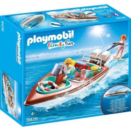 Playmobil 9428 - motorówka z silnikiem podwodnym