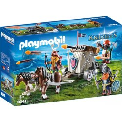 Playmobil 9341 - balista krasnoludów i zaprzęg kucyków