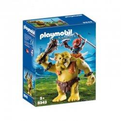 Playmobil 9343 - olbrzymi troll z nosidłem dla krasnoluda