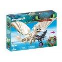 Playmobil 70038 - smok Biała Furia z małym smokiem