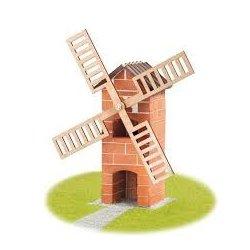 Budowle z cegiełek - Teifoc Wiatrak