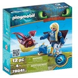 Playmobil 70041 - Astrid i Hobbgobler, Jak Wytresować Smoka