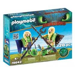 Playmobil 70042 - Mieczyk i Szpadka, Jak Wytresować Smoka