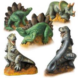Zestaw do wykonania odlewów 3 dinozaurów, Ses Creative