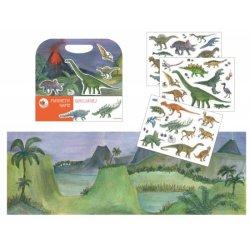 Gra Magnetyczna Dinozaury, Magnetic Game Dinosaurs, Egmont Toys