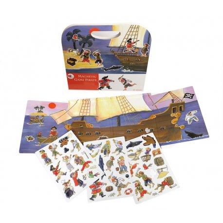 Układanka magnetyczna Piraci, Egmont Toys Magnetic Game Pirates