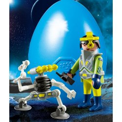 Playmobil 9416 - Space agent z robotem
