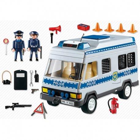 Playmobil 4023 - Furgonetka policyjna z akcesoriami