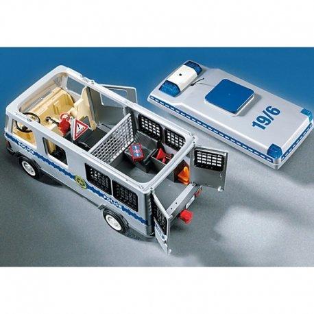 Furgonetka Policyjna - Playmobil 4023 - Ściągalny dach
