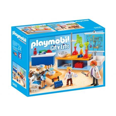 Playmobil 9456 - sala do lekcji chemii