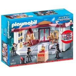 Playmobil 9451 - Napad na muzeum