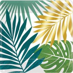 8 talerzy Key West - kwadratowe 18 cm średnicy