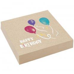 """20 serwetek """"Moje Urodziny"""" Happy Birthday - 33 cm"""