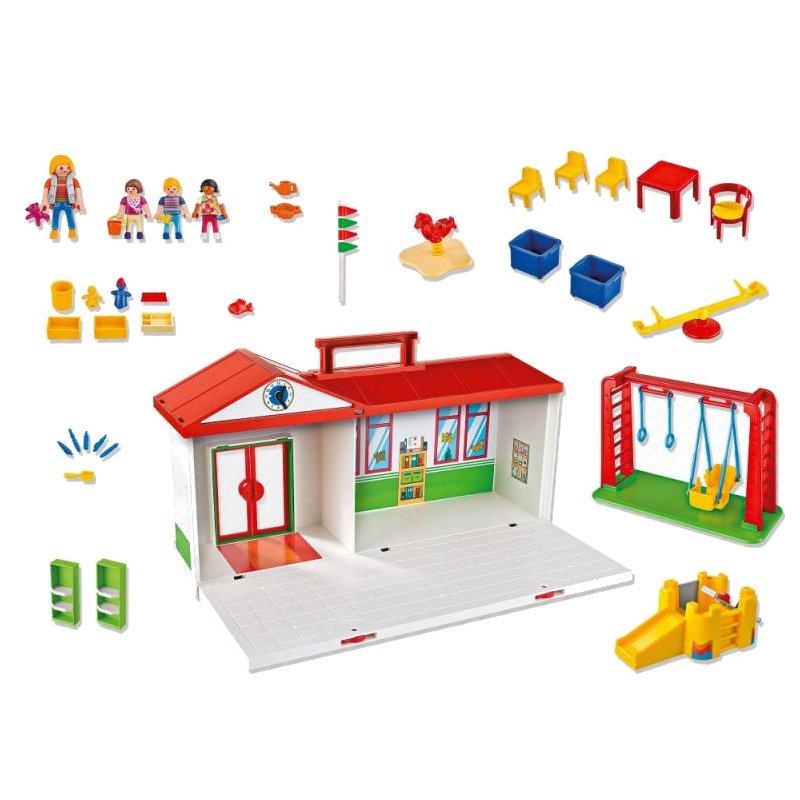 Playmobil 5606 - Przenośne przedszkole w walizce - lista akcesoriów
