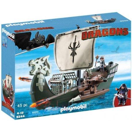 Playmobil 9244 - Dragons Jak wytresować smoka - Statek Dragos