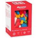 Marioinex - Klocki Classic 115 szt. - giętkie, gumowe