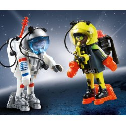 Playmobil 9448 - duo pack astronauci