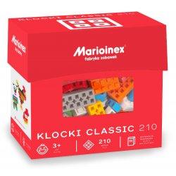 Marioinex - Klocki Classic 210 szt. - z gumowego materiału