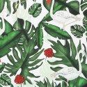 Bambusowy otulacz King Size, Evergreen Tiger, Fringe, La Millou